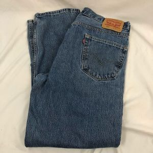 Levi's 550 Men's Relaxed Fit 36 x 32 Blue Jeans
